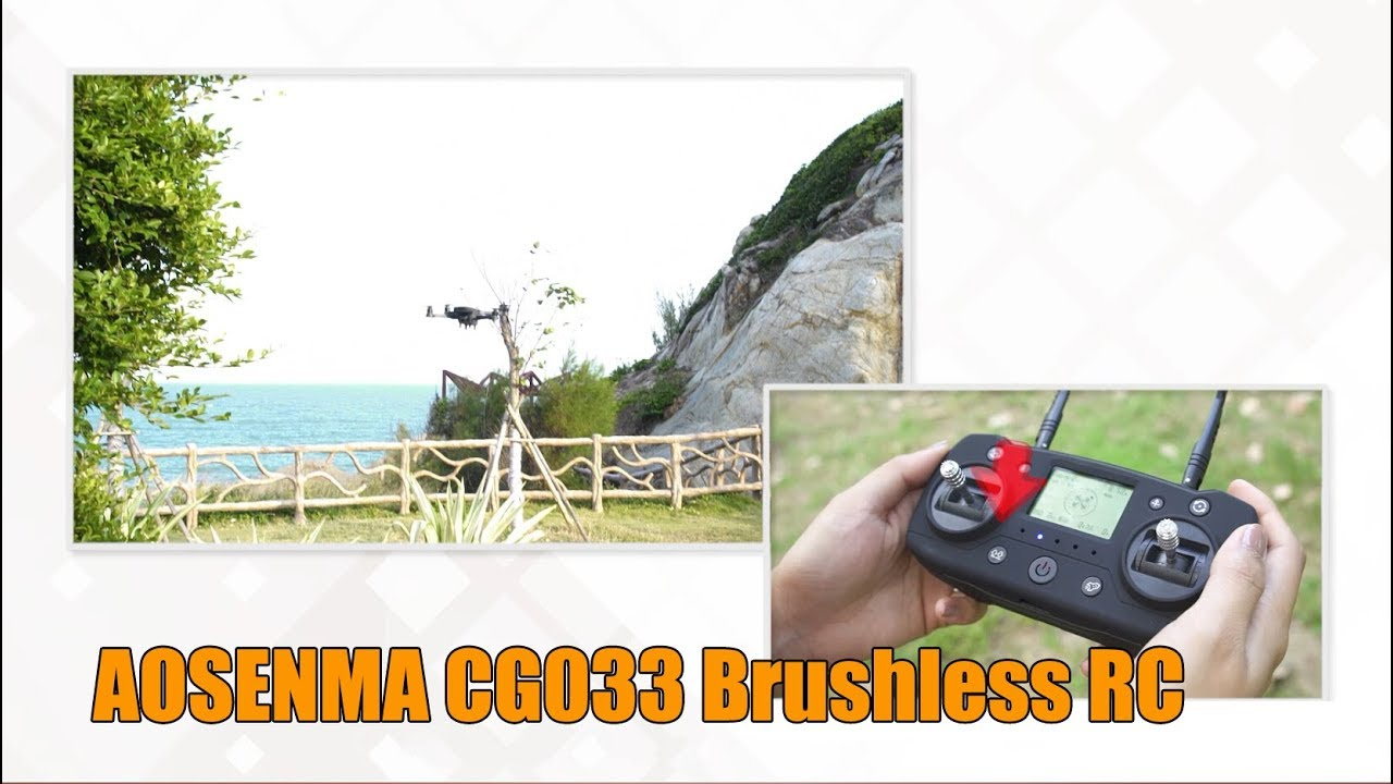 AOSENMA CG033 Brushless RC Drone Quadcopter RTF