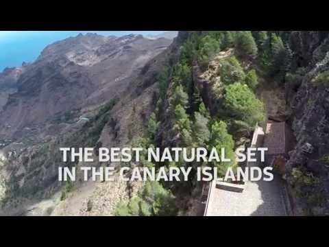 La Gomera, the best natural set in the Canary Islands