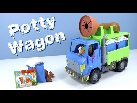 Flush Force Series 2 Potty Wagon Toy Playset Review Spin Master