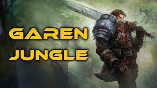 League of Legends - BUFFED Garen Jungle - Full Game Commentary