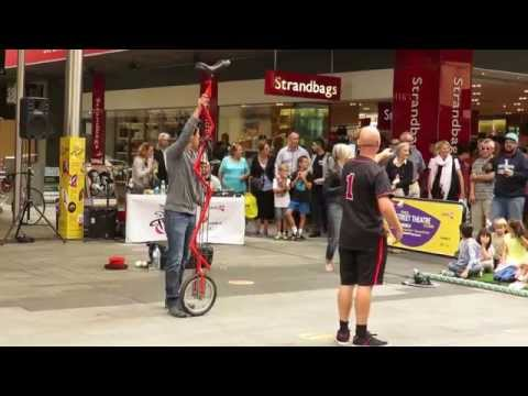The Mr Spin Show Part 2 of 2 - Street Theatre, Rundle Mall, Adelaide Sth Australia 2015