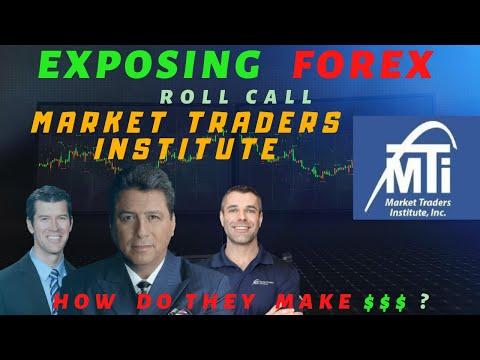 Exposing Forex: Market Traders Institute