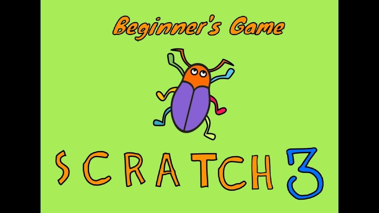 Scratch 3 Beginner's Tutorial - Beetle Game (Scratch 2019)