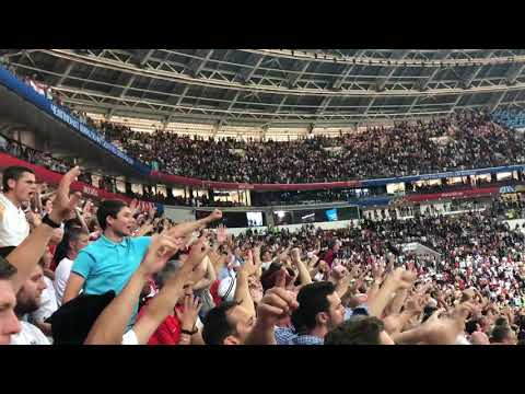 """""""ENGLAND TILL I DIE"""" AFTER LOSING 2-1 SEMI-FINAL MOSCOW 2018"""