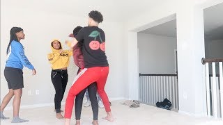 F.I.G.H.T.I.N.G TAE PRANK ON JAZZ AND JORDAN!!!