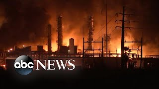 Chemical plant explosion in Texas rocks nearby homes l ABC News