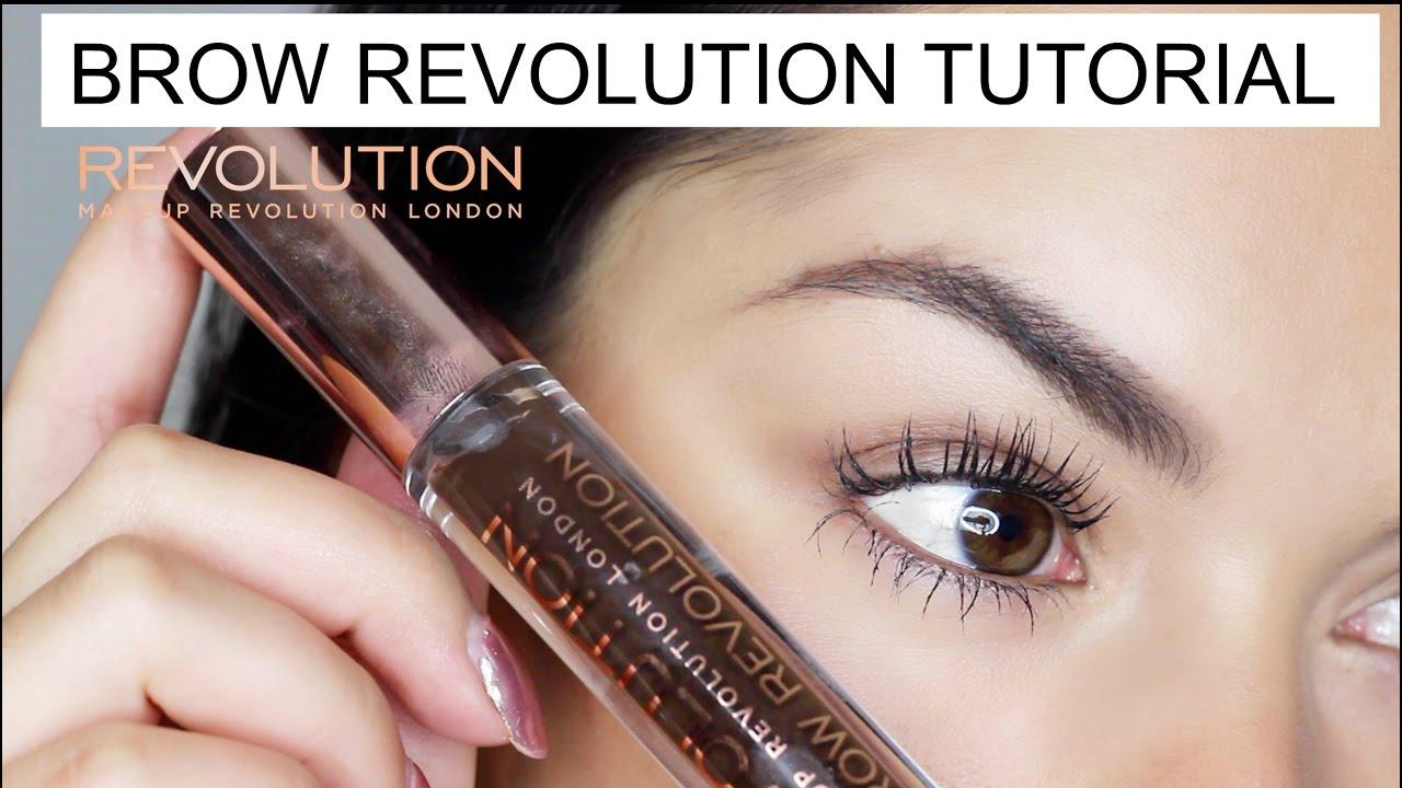 Brow Revolution Brow Gel Tutorial Makeup Revolution Youtube