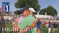 Justin Thomas' highlights | Round 4 | Bridgestone 2018