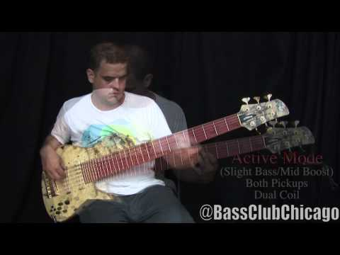 Download Youtube: Fodera Emperor II Elite 6 String Bass Demo by Bass Club Chicago