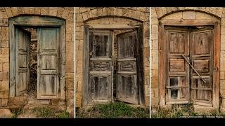Дагестан.  Заброшенное село Гамсутль.