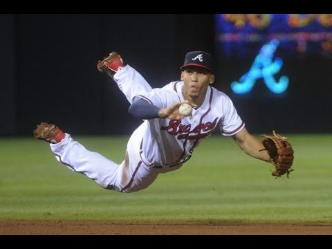 Atlanta Braves #19 Andrelton Simmons at Western Oklahoma State College