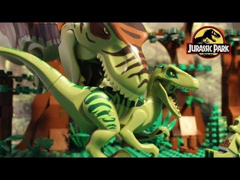 Download Youtube: Lego Cyclops - Jurassic Park 2 - Stopmotion