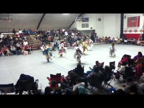 Browning middle school powwow grass
