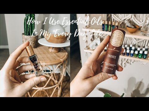 MY EVERY DAY ESSENTIAL OIL ROUTINE