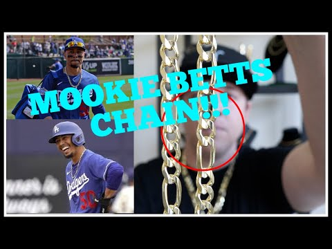Best GOLD chain in BASEBALL?!