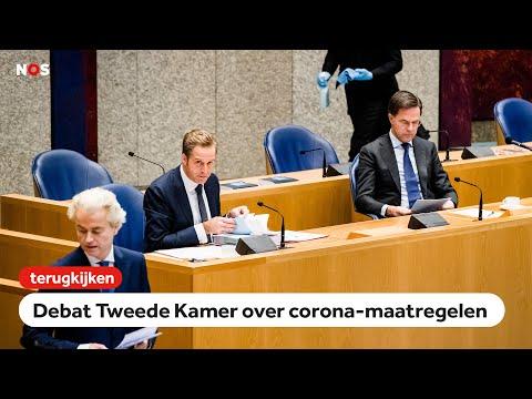 LIVE: Tweede Kamer debatteert over de coronacrisis