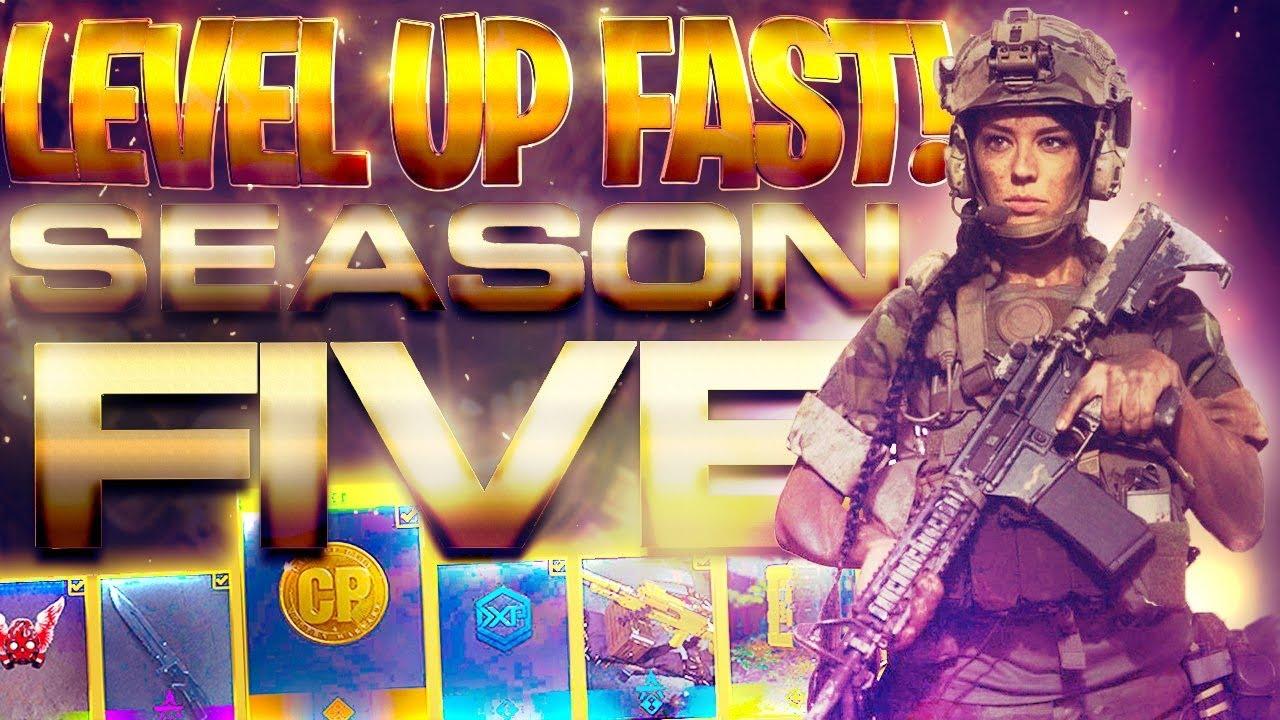 Fastest Way To Level Up Season 5 Battle Pass On Modern Warfare