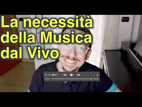 l'Importanza della Musica dal vivo
