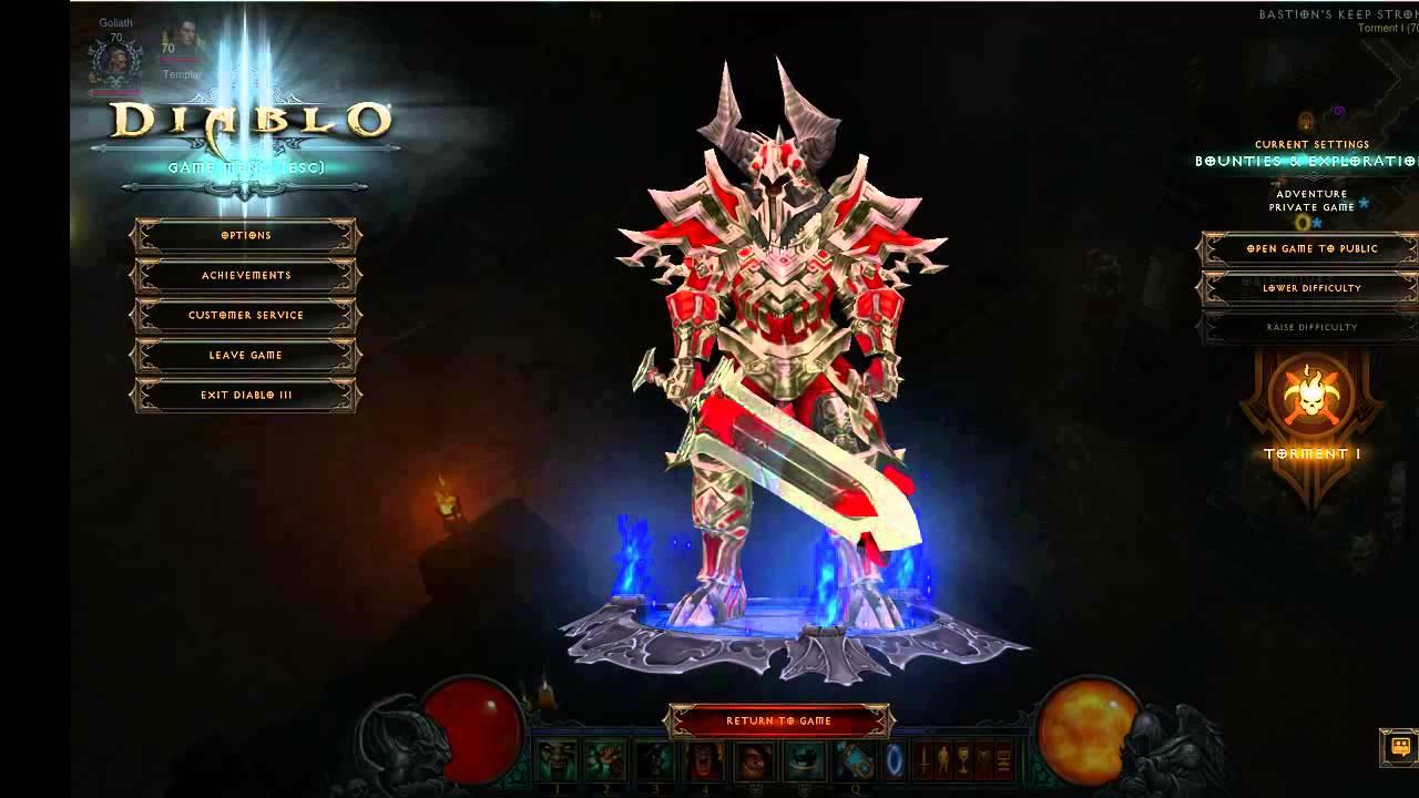 Build Guerrier Diablo