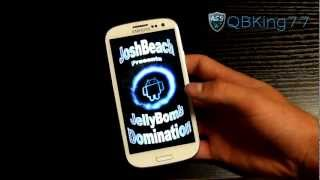 How to Install JellyBomb Domination Rom on the Sprint Samsung Galaxy S III