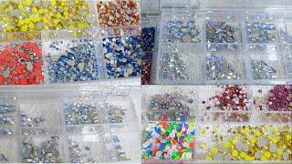 Sky Beads and Bluestreak Swarovski Crystals Haul | 2020
