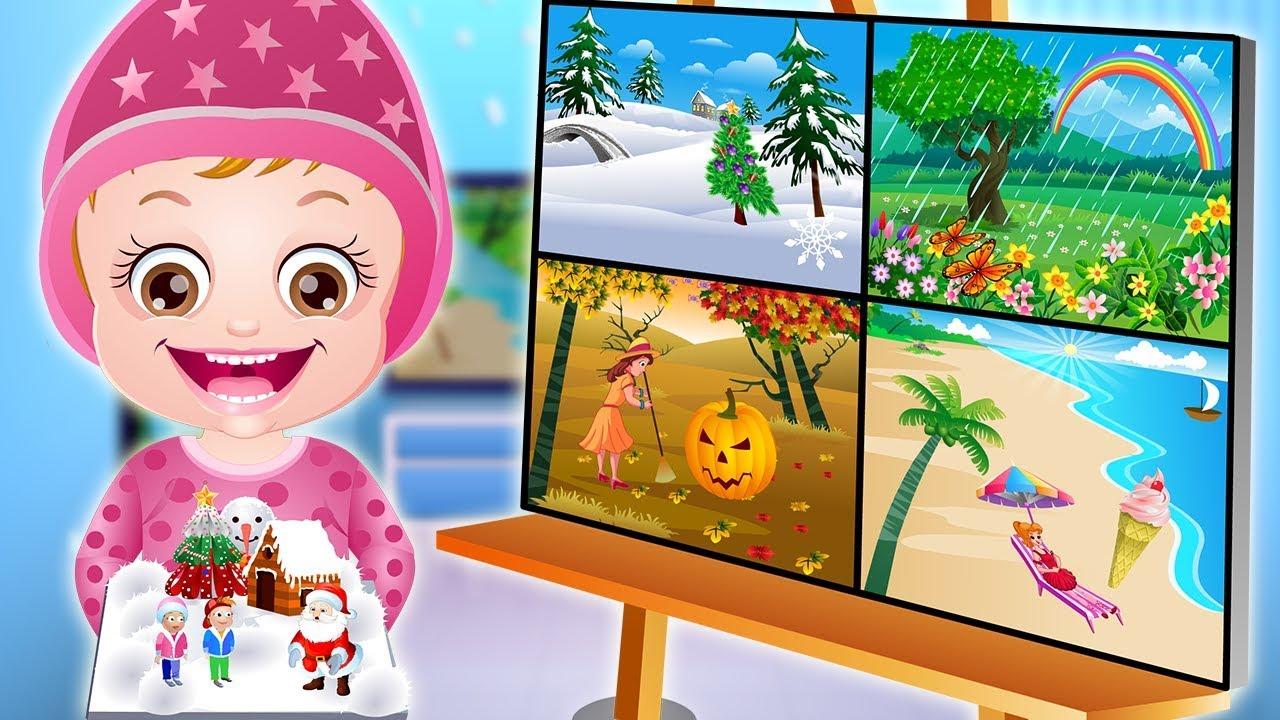 Baby Hazel Learn Seasons Game Episode by Baby Hazel Games ...
