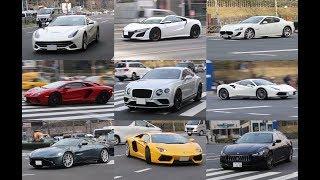 平日の青山通りの高級車やスーパーカーを撮ってみました。 ※ナンバーに...