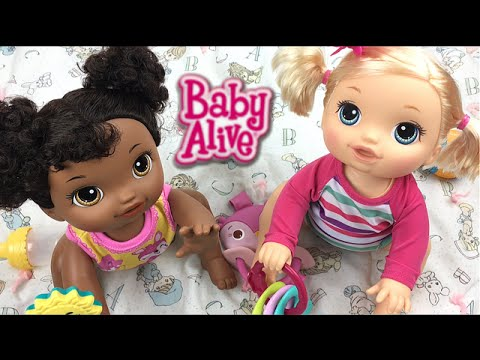 Baby Alive Go Bye Bye Crawling Doll Name Reveal Youtube
