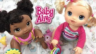 Baby Alive Go Bye-Bye Crawling Doll Name Reveal