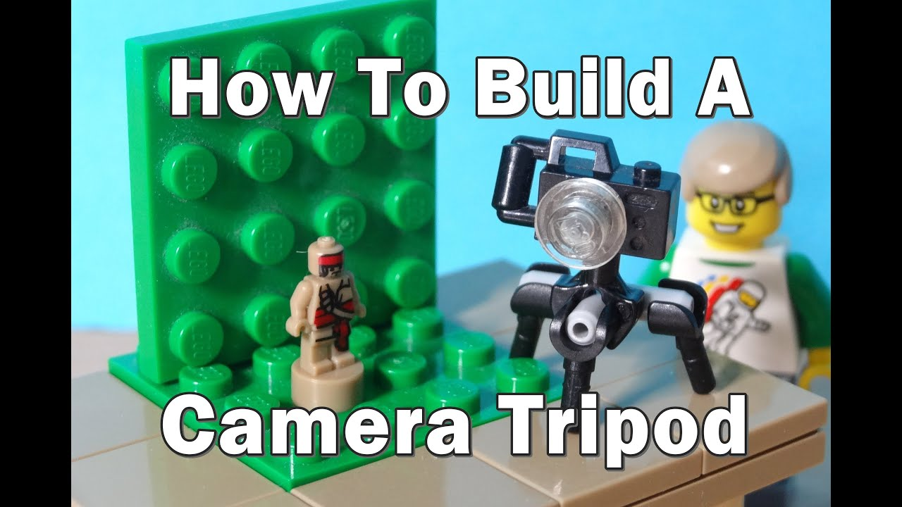 how to build a lego camera tripod youtube. Black Bedroom Furniture Sets. Home Design Ideas