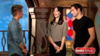 Mandy Moore and Zachary Levi Talk About Tangled on Radio Disney