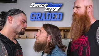 WWE SmackDown Live: GRADED (13 Aug) | Roman Reigns Confronts Daniel Bryan, SummerSlam 2019 Fallout