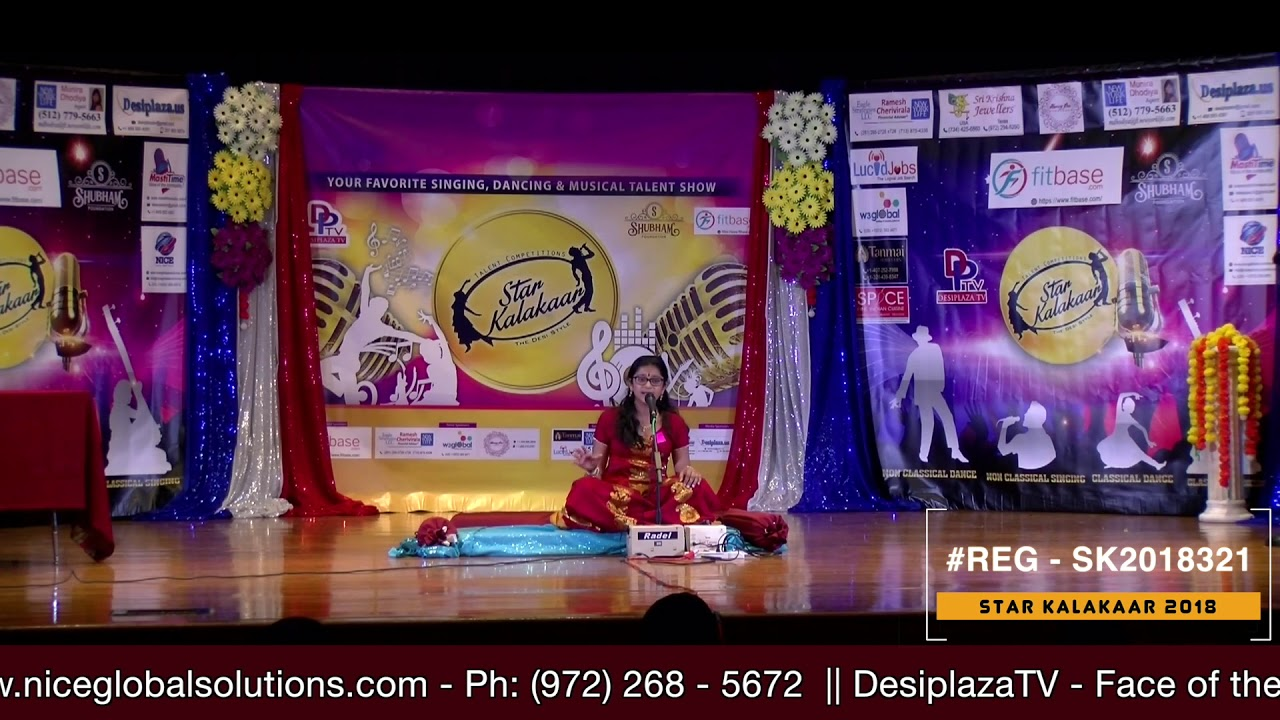 Registration NO - SK2018321 - Star Kalakaar 2018 Finals - Performance