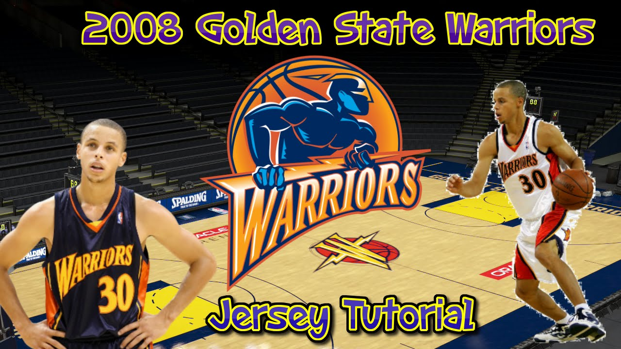 NBA 2K16: How to make 2008 Golden State Warriors Jerseys and Arena