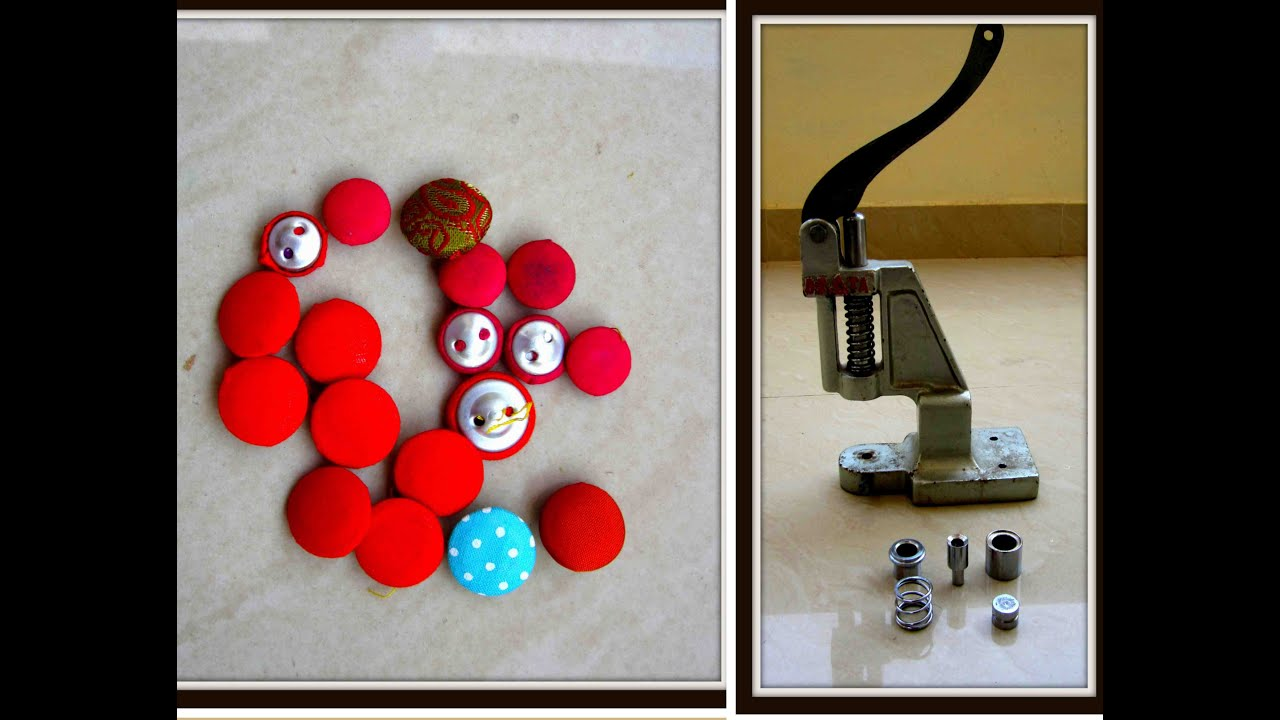 How To Make Diy Buttons