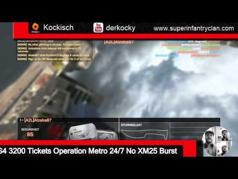 SUPER@ [SiC] S4 3200 Tickets Operation Metro 24/7 No XM25 Burst with Teamspeak fun
