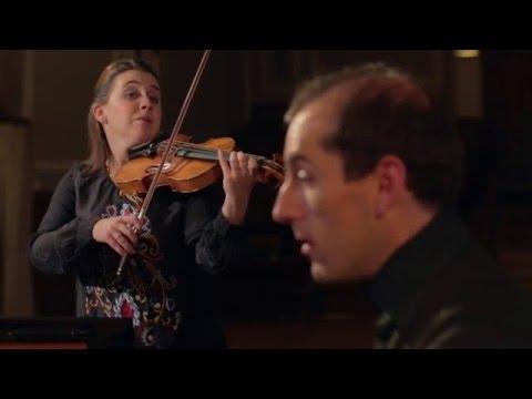 """Chloë Hanslip & Danny Driver - Beethoven: Violin Sonata No.5 in F major """"Spring"""" 3.Scherzo"""