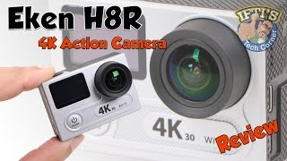 Eken H8R 4K Ultra HD WiFi Action Camera : REVIEW + SAMPLE CLIPS!