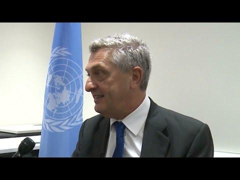 UNHCR Filippo Grandi talks about refugees crisis