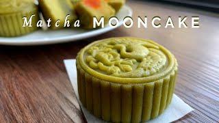 Bánh trung thu matcha đậu xanh  Matcha Mooncake