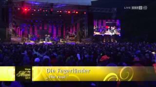 Die Fegerländer - WENN DIE MUSI SPIELT Sommer Open Air 2014 - The Rose