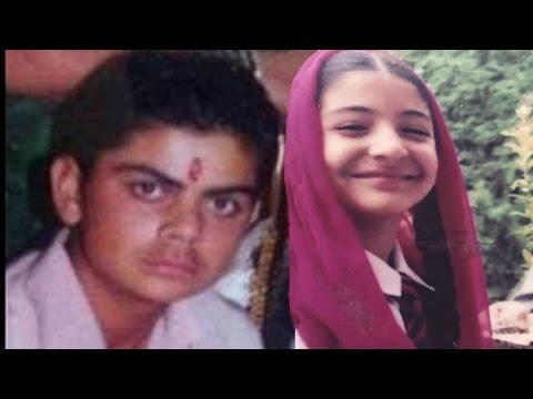 जब हम बच्चे थे - विराट कोहली - अनुष्का शर्मा | Virat Kohli - Anushka Sharma Unseen Childhood Pics Mp3