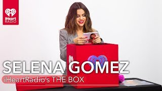 "Selena Gomez Talks About Her New Music, Childhood + More In iHeartRadio's ""The Box"""