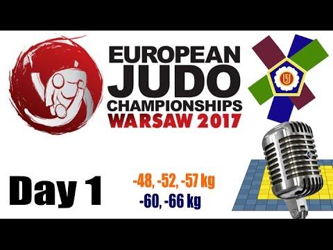 European Judo Championships Warsaw 2017: Day 1