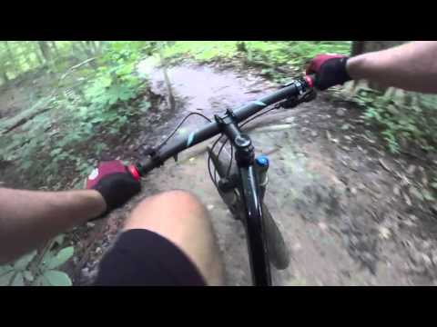 Mountain Biking at Alum Creek P2