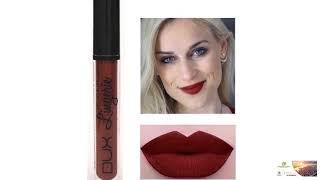 Lipstick Matte Brown Chocolate Color Liquid Lipstick FREE SHI