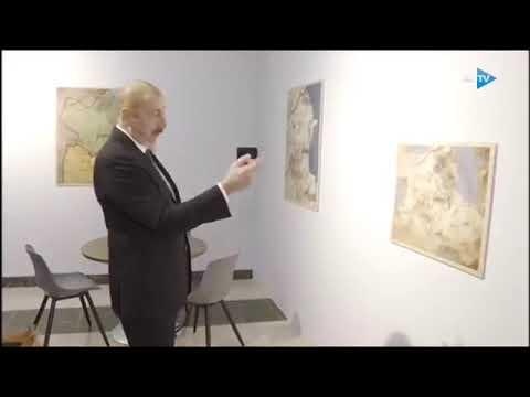Илхам Алиев нашел Армению на древней карте