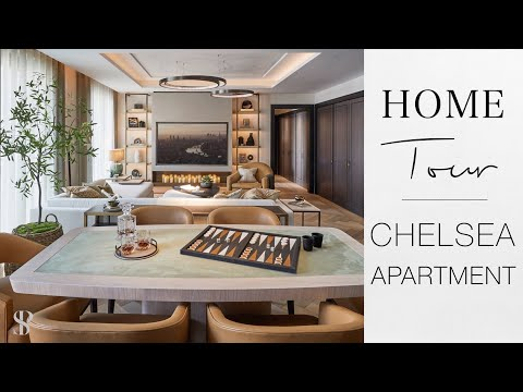 CHELSEA APARTMENT HOME TOUR - INTERIOR DESIGN - Behind The Design - Episode 3