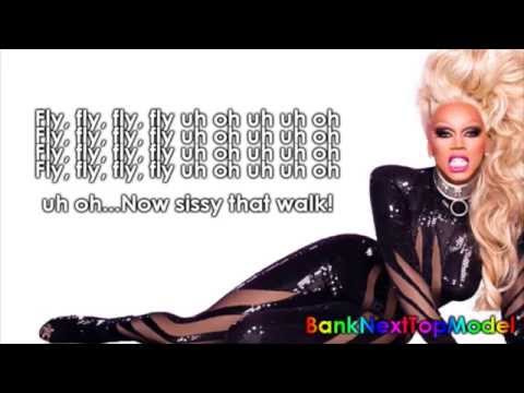 RuPaul   Sissi That Walk (Karaoke/Instrumental/Lyric)
