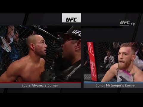 Eddie Alvarez vs Conor McGregor Highlights